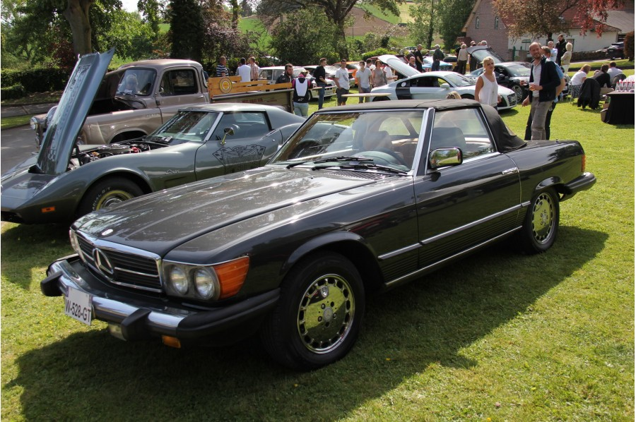 mercedes 380 sl cabriolet 1984 onecar. Black Bedroom Furniture Sets. Home Design Ideas