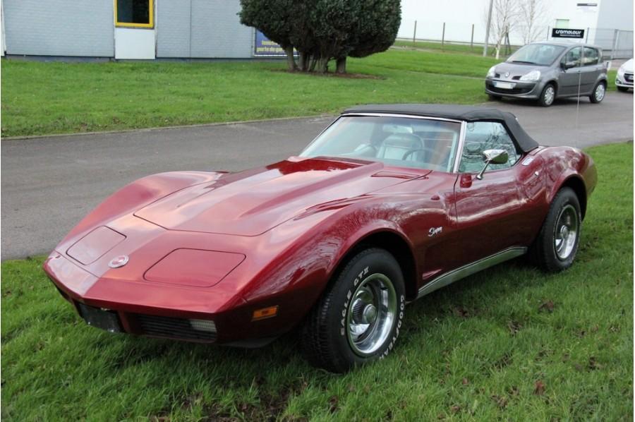 Chevrolet Corvette Stingray >> Chevrolet Corvette cabriolet stingray 1974 - onecar