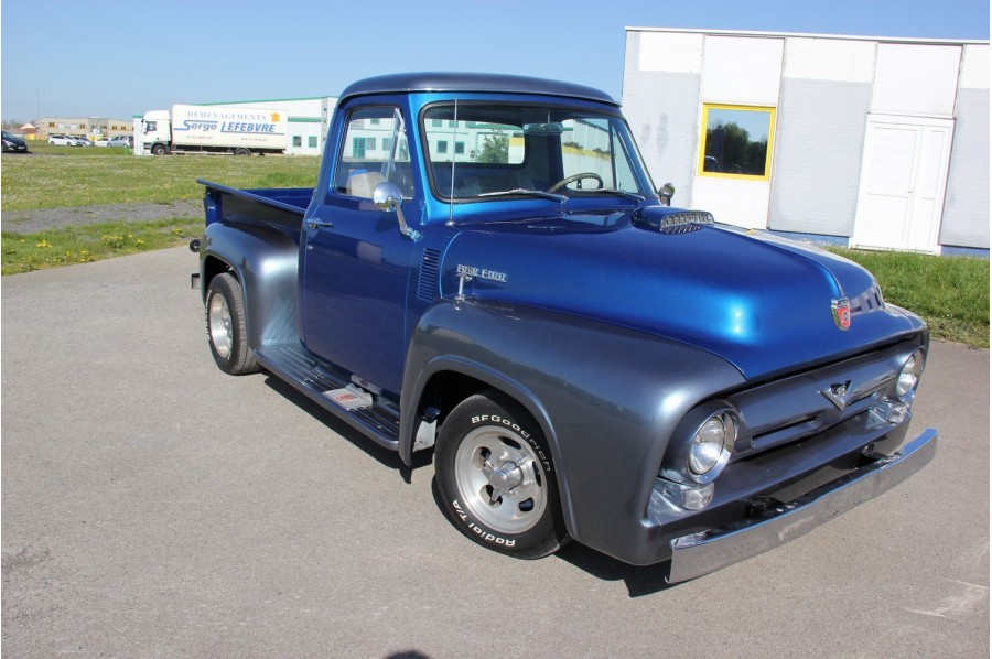 ford f100 pick up 1954 onecar. Black Bedroom Furniture Sets. Home Design Ideas